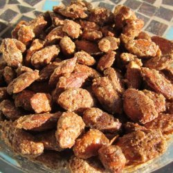 Cinnamon Crusted/Roasted Almonds recipe