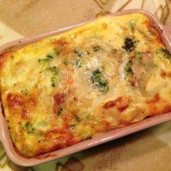 Crustless Vegetable Quiche (Gluten-Free Option) recipe
