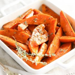 Sweet Potato Wedges recipe