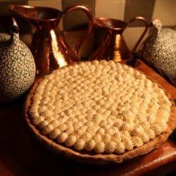 Pumpkin Pie With White Chocolate Whipped Cream recipe