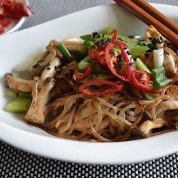 Chicken Mushroom Stir-Fry recipe