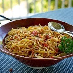 Spaghetti Salad recipe