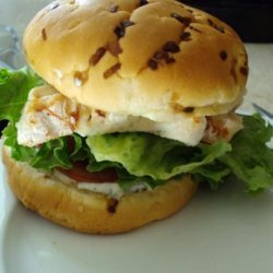 Chicken Sandwich With Lemon Basil Mayo recipe