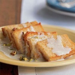 Indian Bread Pudding With Cardamom Sauce recipe
