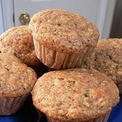 Pineapple Zucchini Muffins recipe