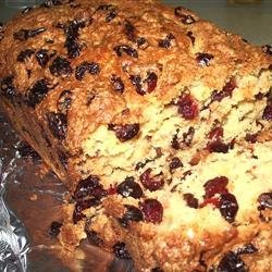Grandmother's Famous Cranberry Bread recipe