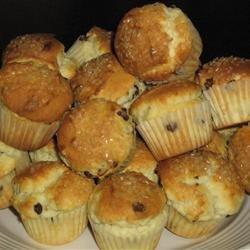 Chocolate Chip Cream Cheese Muffins recipe