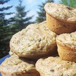 Super Duper Zucchini Muffins recipe