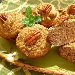 Dietetic Banana Nut Muffins recipe