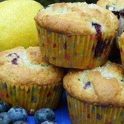 Chef John's Blueberry Muffins recipe
