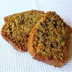 Caley's Classic Zucchini Bread recipe