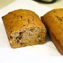 Zucchini Walnut Bread recipe