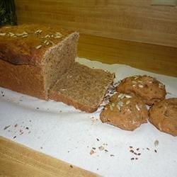 Whole Wheat Seed Bread recipe