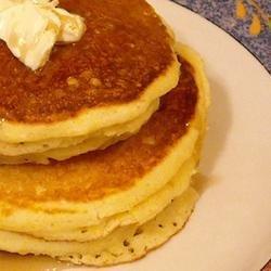 Corn Muffin Pancakes recipe