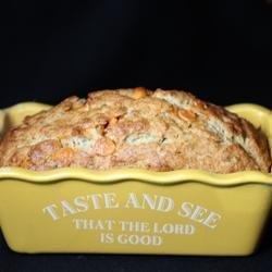 Banana Butterscotch Bread recipe