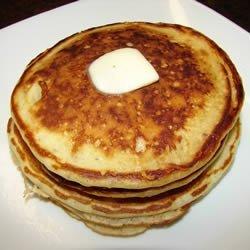 Banana Brown Sugar Pancakes recipe