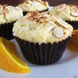 Golden Coconut Almond Muffins recipe