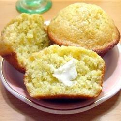 Plantain Corn Muffins recipe
