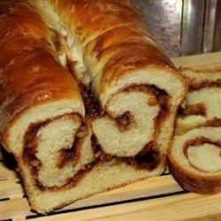 Cinnamon Swirl Bread for the Bread Machine recipe