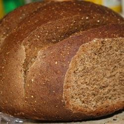 Pumpernickel Bread II recipe