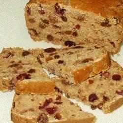 Cranberry Loaf recipe