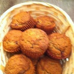Healthier Banana Crumb Muffins recipe