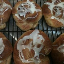Mrs. Baker's Sticky Cinnamon Rolls recipe
