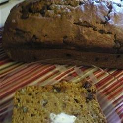 Chocolate Pecan Pumpkin Bread recipe
