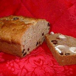 Moist Banana Raisin Bread recipe