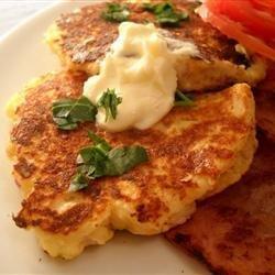 Mountain Mama's Potato Pancakes recipe