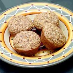 Date Oat Muffins recipe