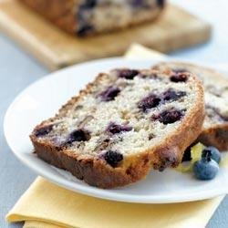 Blueberry Lemon Walnut Bread recipe