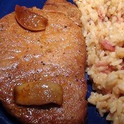 Korean Slow Cooker Pork Chops recipe