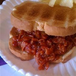 Pittsburgh Ham Barbecue Sandwich recipe