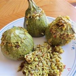 Lebanese Stuffed Zucchini (Coosa/Koosa) recipe