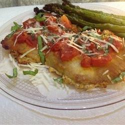 Tomato Veal Scallopini recipe