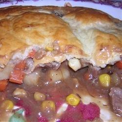 Beef Pot Pie II recipe