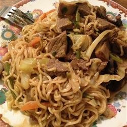 Spicy Thai Steak and Vegetable Stir Fry recipe