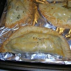 Squash and Kohlrabi Empanadas recipe