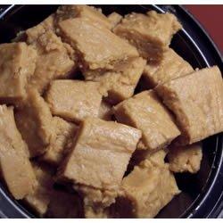 Easy Vegan Peanut Butter Fudge recipe