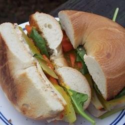 School Lunch Bagel Sandwich recipe