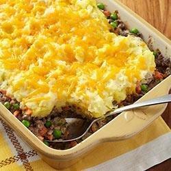 Cheesy Shepherd's Pie recipe