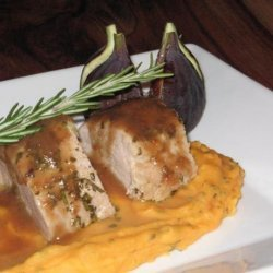 Pork Tenderloin With Fig Port Sauce recipe