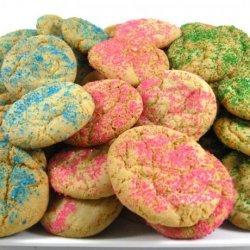 Our Favorite Skinny Easter Sugar Cookies recipe