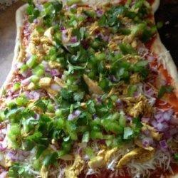 Tasty Thai Chicken Pizza recipe