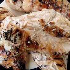 Brined Chicken With Big Bob's White BBQ Sauce recipe