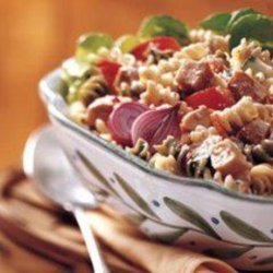 Suddenly Chicken Parmesan Pasta Salad recipe