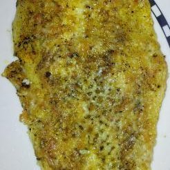 Baked Fish With Marble Cheddar Cheese recipe