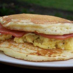 Breakfast Pancake Sandwich recipe