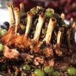 Wild Rice Stuffing With Grapes and Hazelnuts recipe